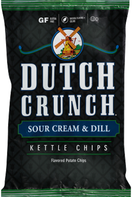 Old Dutch Sour Cream & Dill Kettle Chips
