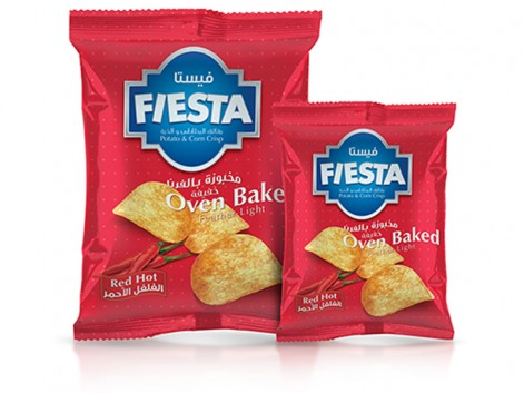 Notions Group Fiesta Crisps Red Hot Potato Snacks