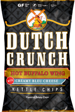 Old Dutch Hot Buffalo Wing Kettle Chips