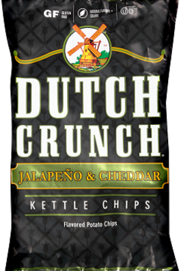Old Dutch Jalapeno & Cheddar Kettle Chips