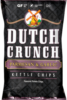 Old Dutch Parmesan & garlic Kettle Chips