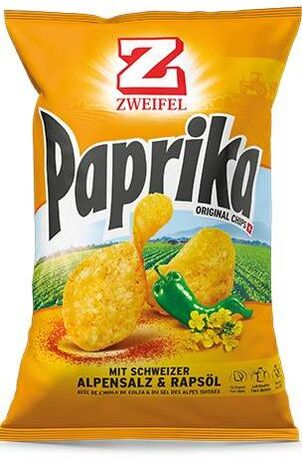 Zweifel Potato Chips Paprika