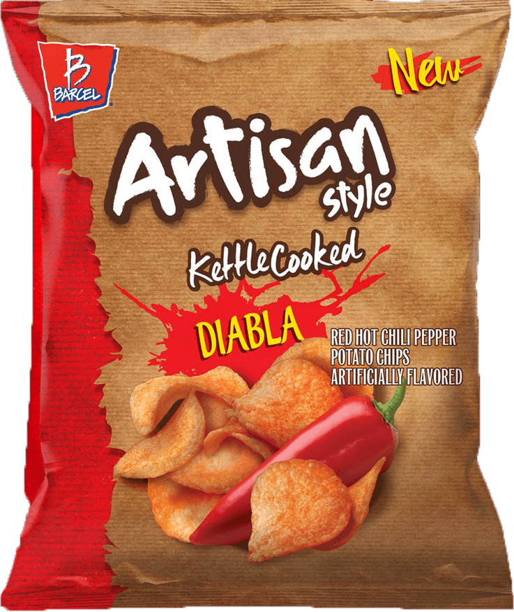 Barcel Kettle Chips Diabla
