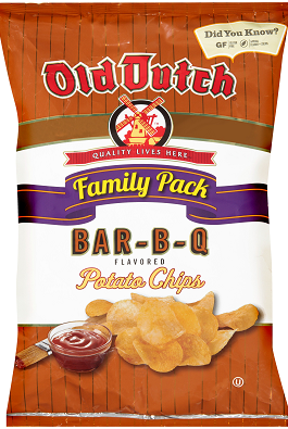 Old Dutch barbecue Chips