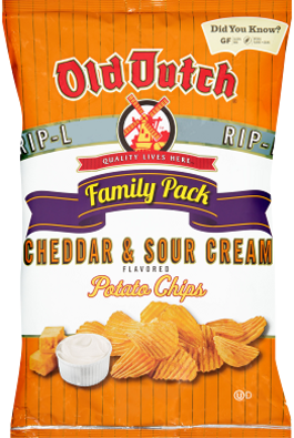 Old Dutch Cheddar & Sour Cream Chips