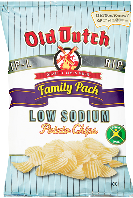 Old Dutch Low Sodium Chips