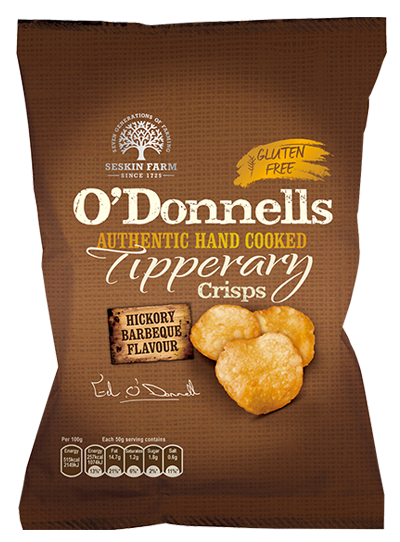 O'Donnells of Tipperary Hand Cooked Hickory Barbeque Crisps Review