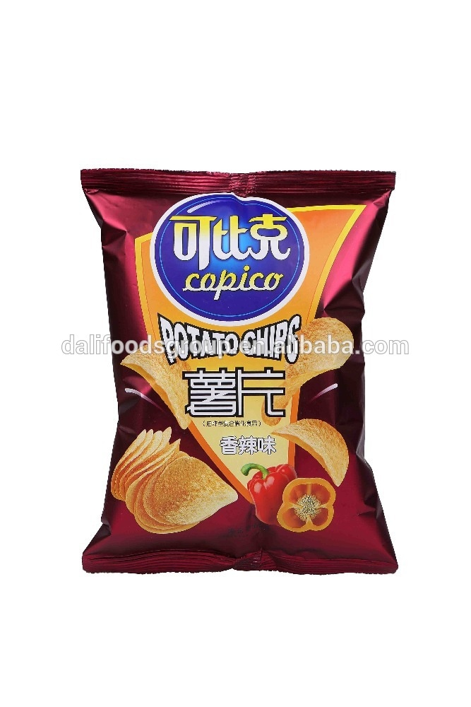 Copico Spicy Flavor Potato Chips Review