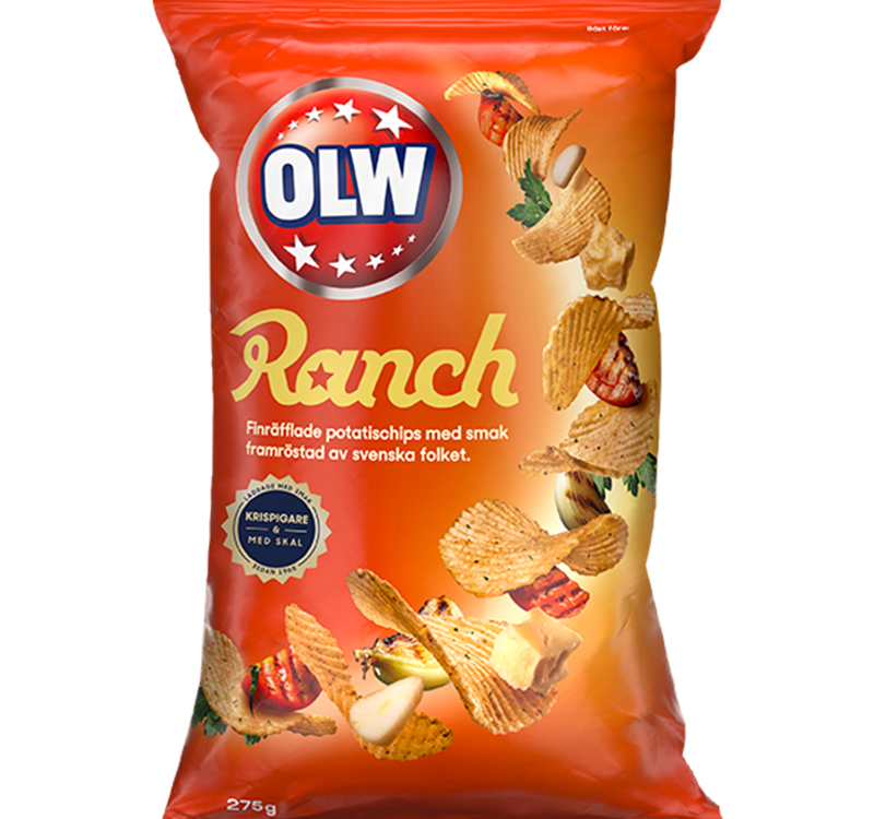 OLW Potato Chips Ranch