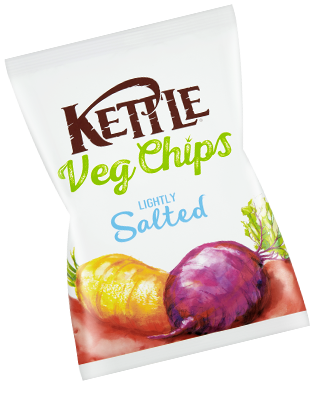 Kettle Veg Chips Lightly Salted Review