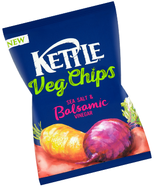 Kettle Veg Chips Sea Salt & Balsamic Vinegar Review