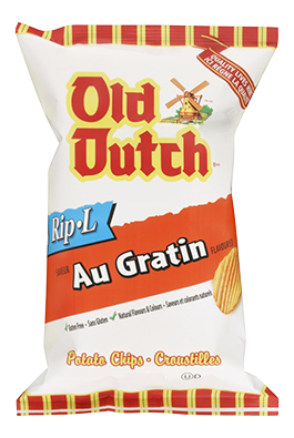 Old Dutch Au Gratin Potato Chips
