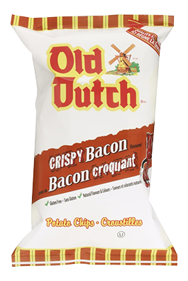Old Dutch Crispy Bacon Potato Chips