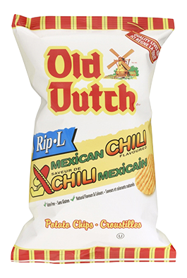 Old Dutch Mexican Chili Rip-L Potato Chips