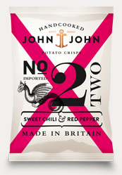 John John Hand Cooked Sweet Chilli & Red Pepper Potato Crisps Review