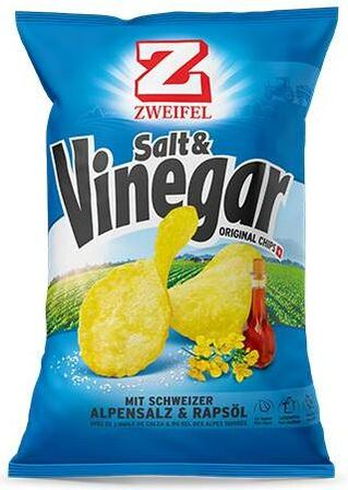 Zweifel Potato Chips Salt Vinegar