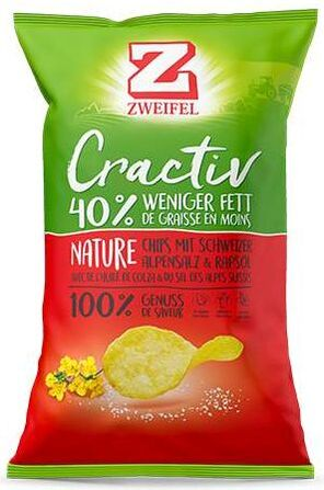 Zweifel Potato Chips Nature
