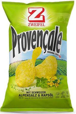 Zweifel Potato Chips Provencale