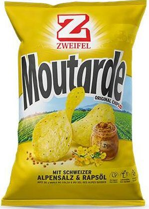 Zweifel Potato Chips Moutarde