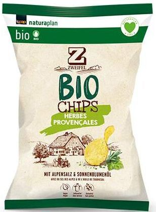 Zweifel Potato Chips Bio Provencale
