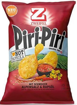 Zweifel Potato Chips Piri Piri