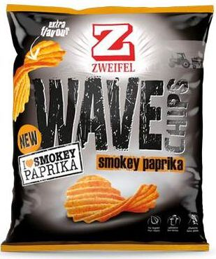 Zweifel Potato Chips Wave Paprika