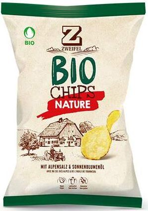 Zweifel Potato Chips Bio Nature
