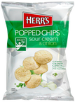 Herr's Sour Cream & Onion Popped Chips