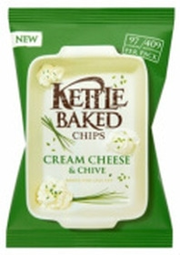 Kettle Baked Chips Cream Cheese & Chive Review
