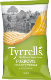 Tyrrell's Furrows Sea Salt & Vinegar