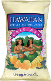 Hawaiian Original Kettle Style Potato Chips