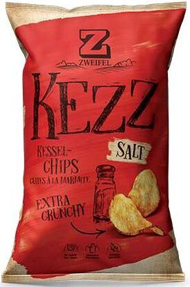 Zweifel Potato Chips Kezz Salt