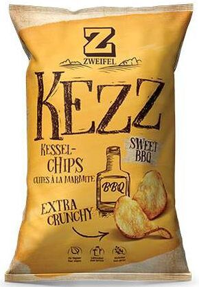 Zweifel Potato Chips Kezz BBQ