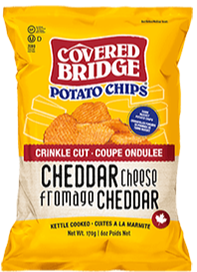 Covered Bridge Cheddar Chips