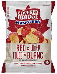 Covered Bridge Red White Chips
