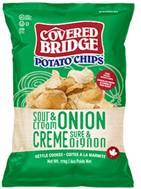 Covered Bridge Sour Cream Onion Chips