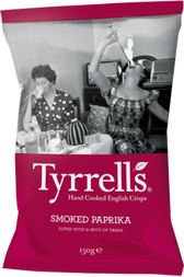 Tyrrell's Smoke Paprika with a Spot of Tapas Crisps Review