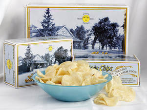 Saratoga Chips Boxes