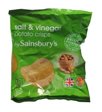 Sainsbury's Potato Crisps Salt & Vinegar