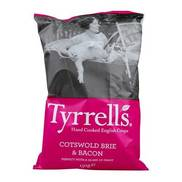 Tyrrell's Cotswold Brie & Bacon Crisps Review