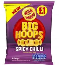 Hula Hoops Spicy Chilli