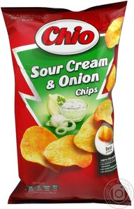 Chio Potato Chips Kartoffel Chips Sour Cream Review