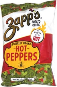 Zapp's Potbelly Brand Hot Peppers Kettle Cooked Chips Review