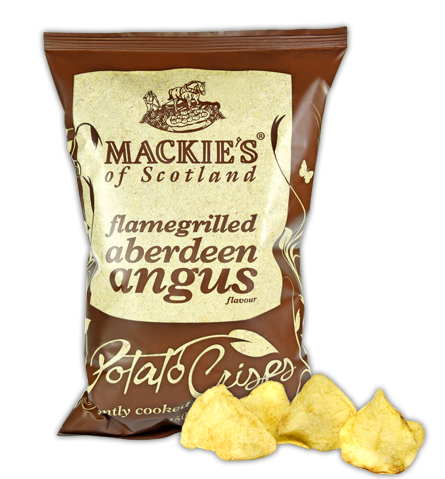 Mackie's of Scotland Ridge Cut Flamegrilled Aberdeen Angus Crisps Review