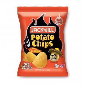Jack 'n' Jill Perisa Cili Salsa Potato Chips Review