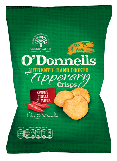 O'Donnells of Tipperary Hand Cooked Sweet Chilli Crisps Review