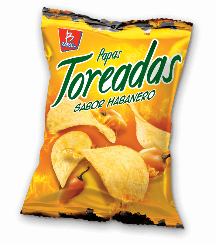 Barcel Chips Toreadas Habanero
