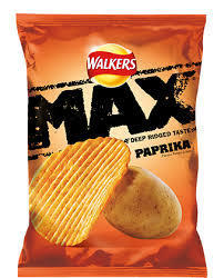 Walkers Max Paprika Crisps Review