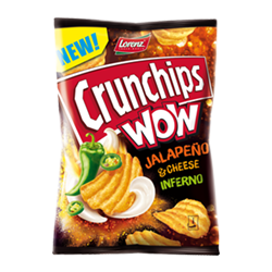 Lorenz Crunchips Wow Jalapeno